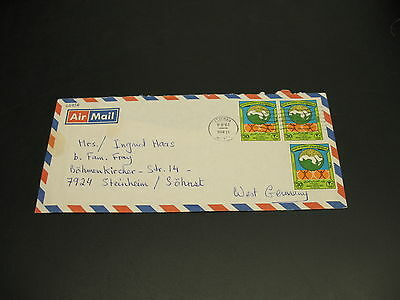 Kuwait 1984 airmail cover to UK *22916