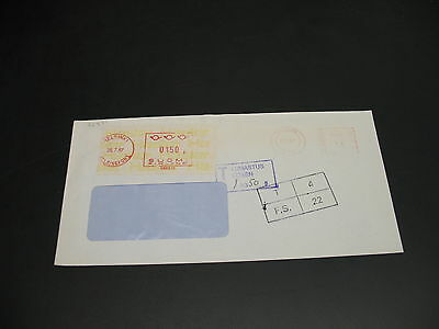 UK 1987 postage due cover to Finland *22371