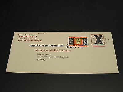 UK Guernsey 1972 cover to Germany *22305