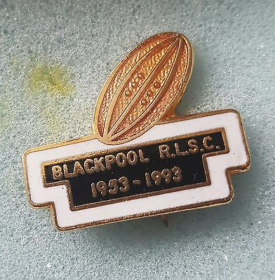 Blackpool rugby league supporters club badge