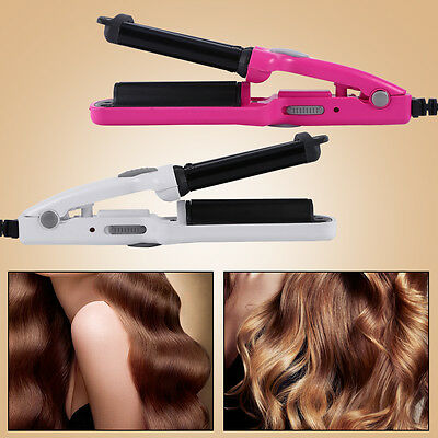 Pro Antistatic Ceramic 3 Barrel Wave Hair Curler Hair Curling Iron Wand Styler