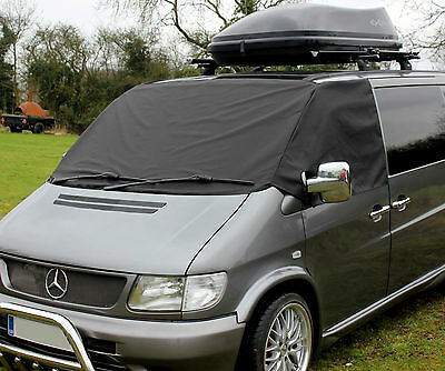 Mercedes Benz Vito Deluxe Window Screen Cover Black Out Blind Camper Van Frost