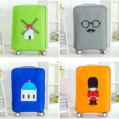Hot British style Luggage Suitcase Cover Protective Bag Dustproof Protector