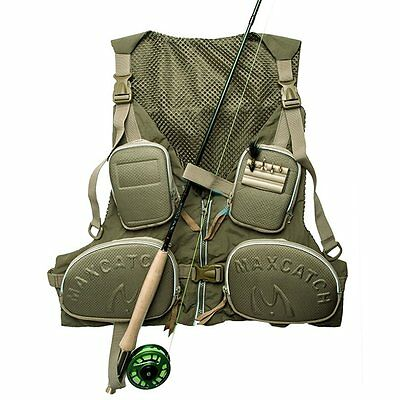 Outdoor Fishing Vest Summer Hunting Vest Jackets Multi-pockets Wear Vest JL