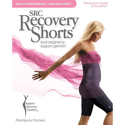 SRC Recovery Shorts Post Pregnancy ALL SIZES - RECEIPT FOR HEALTHFUND INCLUDED