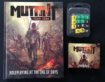 Mutant Year Zero Core Rules plus Dice and Cards
