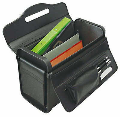 Masters 2292 Pilot Case PVC Black Twin Pockets with Combination Locks - Seconds