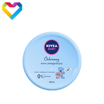 NIVEA BABY GENTLE HYPOALLERGENIC CARE CREAM MOISTURIZING CHILDREN 200ml 86128