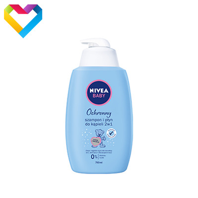 NIVEA BABY GENTLE SHAMPOO & BATH 2 IN 1 HYPOALLERGENIC FOR CHILDREN 200ml 80552