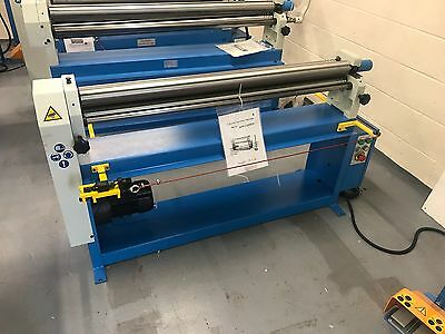 Mach-roll 1300mm X 75mm Power Operated Bending Rollers   Vat Included