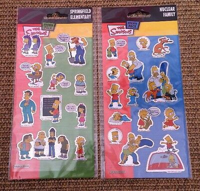 The Simpsons Stickers - 2 Packs