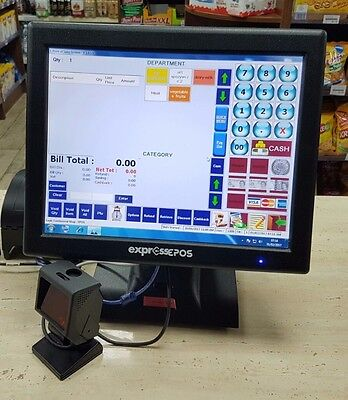 EXPRESS EPOS Touch Screen Tills - Set of 2 Tills - POS System with accessories !
