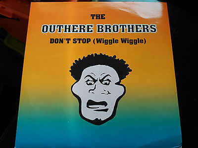 Single The Outhere Brothers - Don't Stop (Wiggle Wiggle) - Wea Uk 1995 Nm