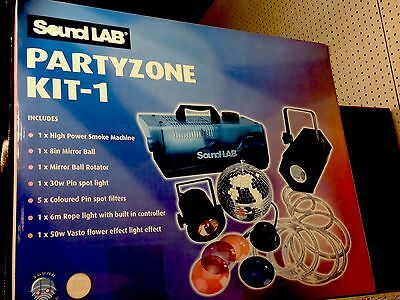 Party Zone Box all you need to make your Party go with a swing  RRP £121
