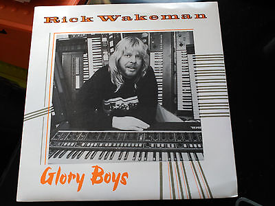 Single Rick Wakeman - Glory Boys - Tbg/president Records Uk 1984 Nm