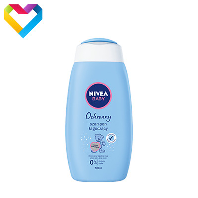 NIVEA BABY GENTLE SOOTHING HYPOALLERGENIC SHAMPOO FOR BABIES 500ml 86269