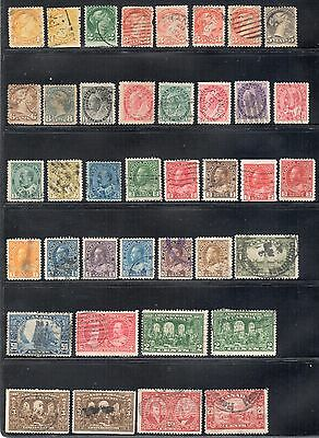 Great Lot of Canada Used, Mixed Condition, Some Classic Stamps
