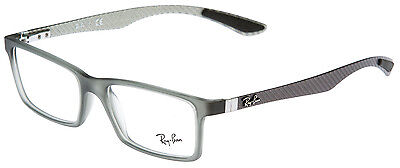 "Ray Ban RB 8901 5244 GR 53 ""CARBON"" BRILLE! ORIGINAL NEU!! OPTIKERFACHGESCHÄFT!!"