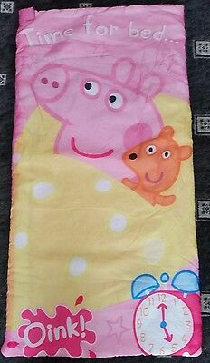 Peppa Pig, (Time For Bed)  Girls  Sleeping Bag.