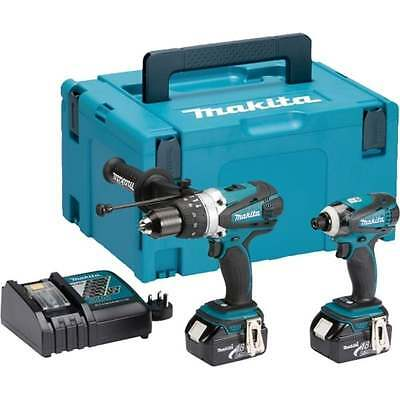 Makita DLX2005 18V Twin Pack Cordless Combi + Impact driver With 2 x 3.0Ah batts