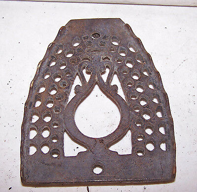 Antique Cast Iron TRIVET - Primitive