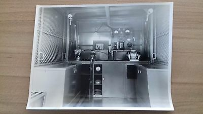 """CLASSIC BLACK & WHITE TRANSPORT PHOTOGRAPH ....  8 3/4"""" x 6 1/2"""" APPROX."""