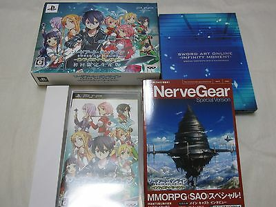 W/Tracking. S1 PSP Sword Art Online Infinity Moment First Limite Edition Japan