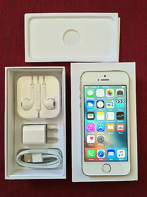 Apple iPhone 5s- 32GB- Gold (Factory Unlocked) A1533 GSM 4G LTE smartphone New