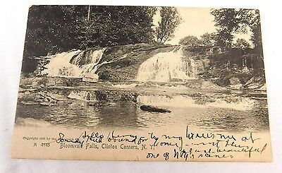 1905 Lovely Bloomvale Falls, Clinton Corners, New York Vintage Postcard P29