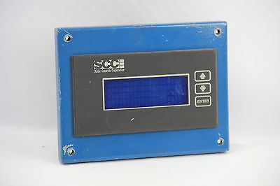 SCC 1080-S2-03-X-X Electronic Display Module Interface 80 Character 3-Button