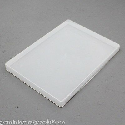 Clear Plastic A4 Slim Craft Paper/Card Storage Boxes