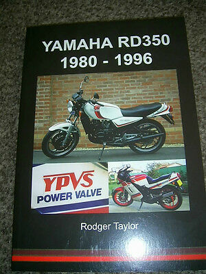 Yamaha RD350 1980-1996 Book by Rodger Taylor RD350LC RD250LC YPVS