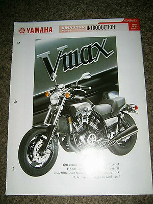 Yamaha VMX1200 V-MAX Complete fact file from Essential Superbikes 26 Pages