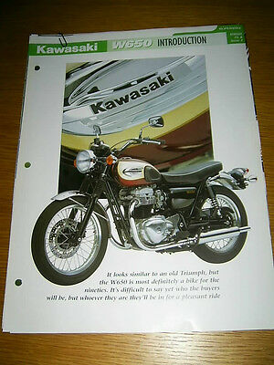 Kawasaki W650 The complete fact file from Essential Superbikes 28 Pages