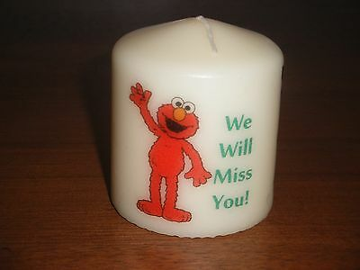 Sesame St Elmo Type Picture Candle Birthday Love Gift New Can Be Personalised