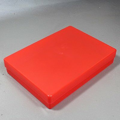 NEW A4 Translucent Red Plastic Craft Paper Home / Office Storage Box