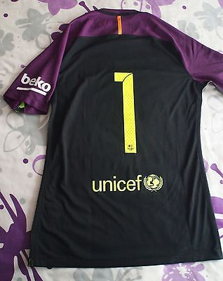 Nike Aeroswift Shirt Fc Barcelona Version Player Issue Match Worn New With Tag