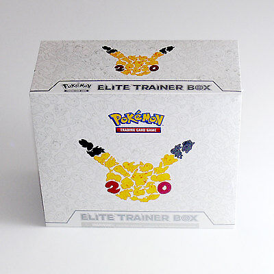 Generations Elite Trainer Box Pokemon NEW SEALED 10 Booster Packs + Pikachu Dice