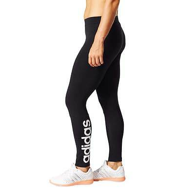 adidas Damen Essentials Linear Tight schwarz Jogginghose Trainingshose BRANDNEU