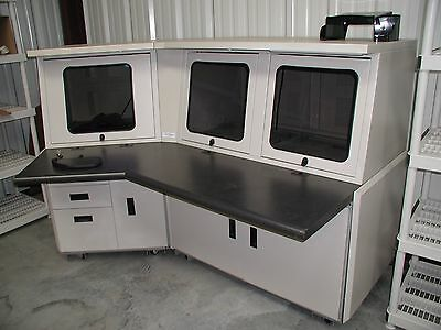 Industrial Computer Desk by ImageVision