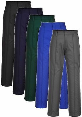 "Portwest 2885 Preston black,grey,green, navy or royal work trousers 26-52"" R/T"