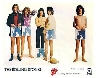 Rolling Stones *POSTER* Sticky Fingers promo ad  - AMAZING IMAGE 70's Rock