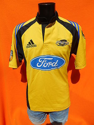 WELLINGTON HURRICANES Jersey Maillot Maglia 2001 2002 Home Adidas Rugby Super 12