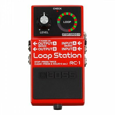 Boss RC-1 Loop Station Looper Guitar Effects Pedal - B Stock