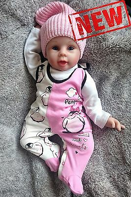 *NEW* Baby Girls **PENGUIN COLLECTION** Babygrow/Sleepsuit/Playsuit 100% Cotton
