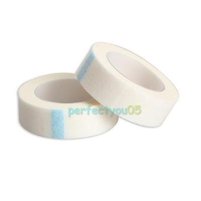 2 Rolls Eyelash Lash Extension Supply Micropore Paper Medical Tape Breathable