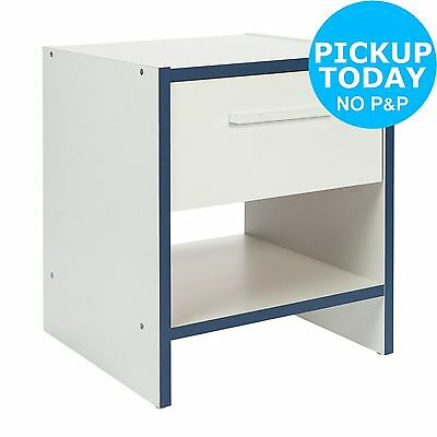 HOME Newport Bedside Chest - Blue. From the Official Argos Shop on ebay