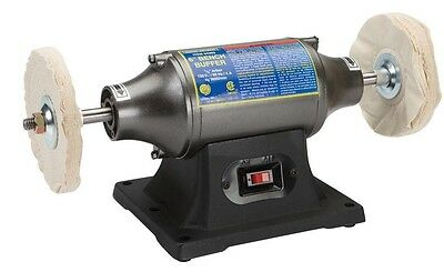 """6"""" Buffer Smooth and polish metals and other materials Benchtop Buffer Polisher"""