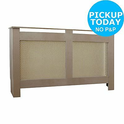HOME Odell Unfinished Radiator Cover - Large. From the Argos Shop on ebay
