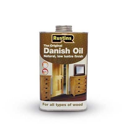 RUSTINS DANISH OIL FOR INTERIOR AND EXTERIOR USES 250ml  500ml  1Ltr